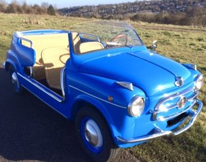 1958 Fiat Jolly Concours Rebuild