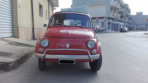 1971 Fiat 500 L Orange For Sale