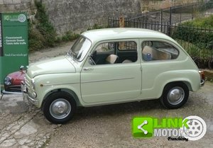 1960 Fiat 600 III serie ASI For Sale