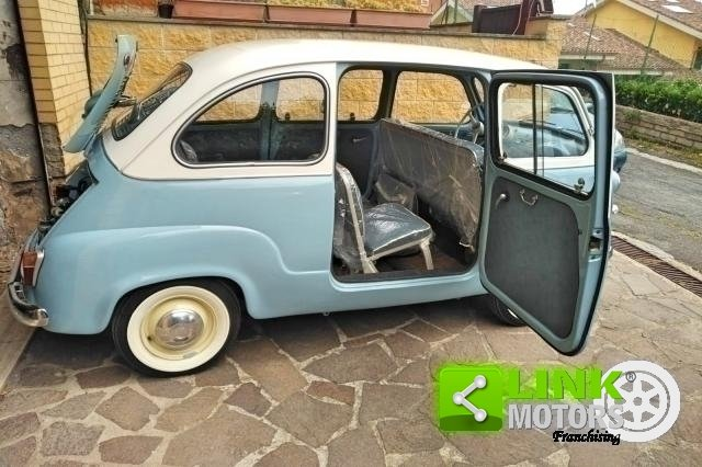 Fiat 600 Multipla 1958 restauro Professionale For Sale (picture 2 of 6)