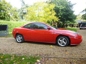 2000 Fiat Coupe by Pininfarina.  one owner from new