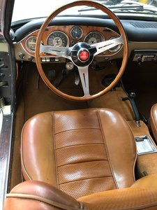 1967 Fiat 2300 S Coupe Ghia - original LHD