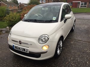 2014 Fiat 500 Lounge Twinair 105 Climate For Sale