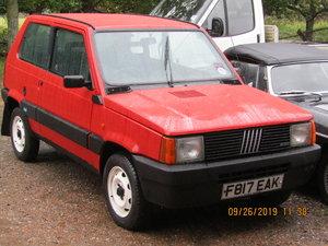 1989 FIAT PANDA 4X4 141A FIRE 63,000 MILES For Sale