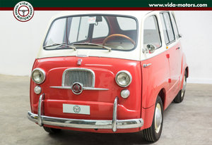 1962 FIAT 600 MULTIPLA * TOP CONDITIONS * ASI GOLD PLATE For Sale