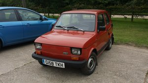 1990 FIAT 126 650E LHD UK REGISTERED LOW MILES