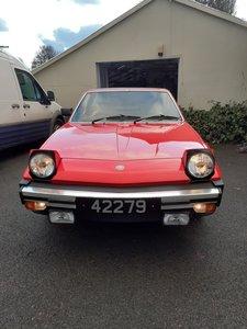 1982 fiat X1/9 Low mileage, 5 speed