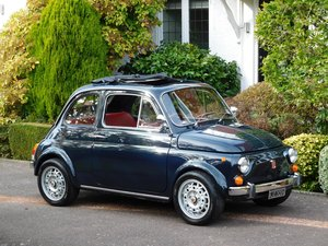 Fiat 500 Lux Classic UK RHD 1972 / A Well Loved Vehicle! For Sale