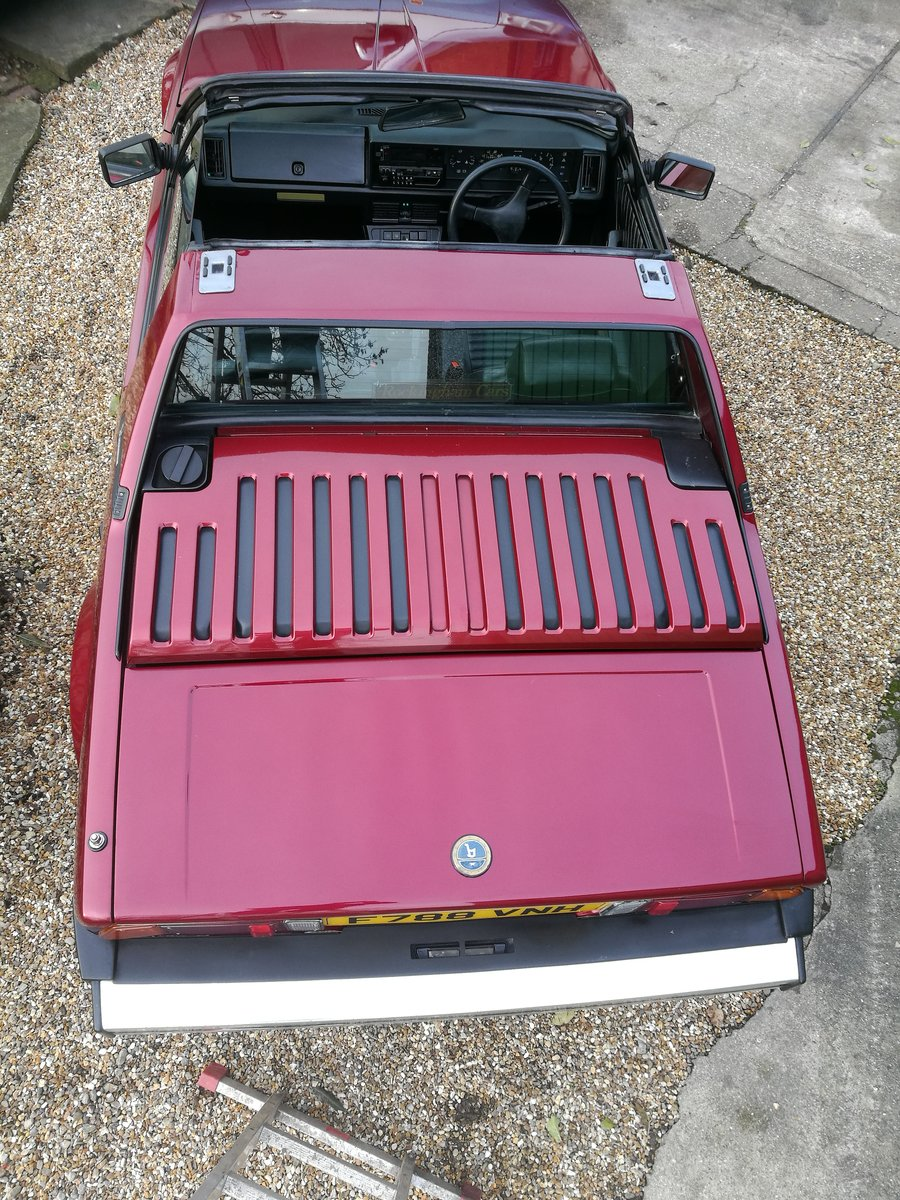 1988 Bertone (Fiat) X19 SOLD (picture 2 of 6)