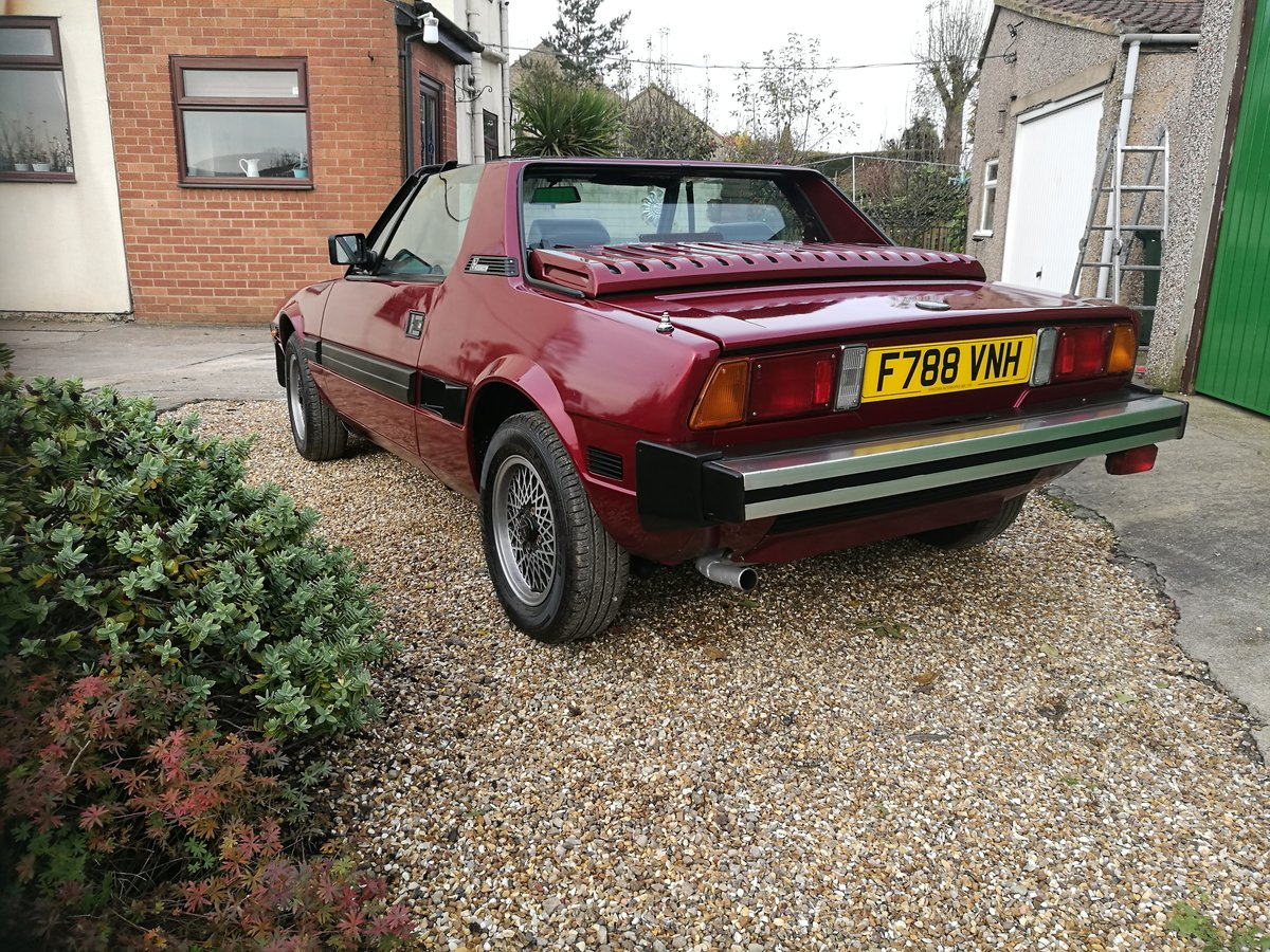 1988 Bertone (Fiat) X19 SOLD (picture 4 of 6)