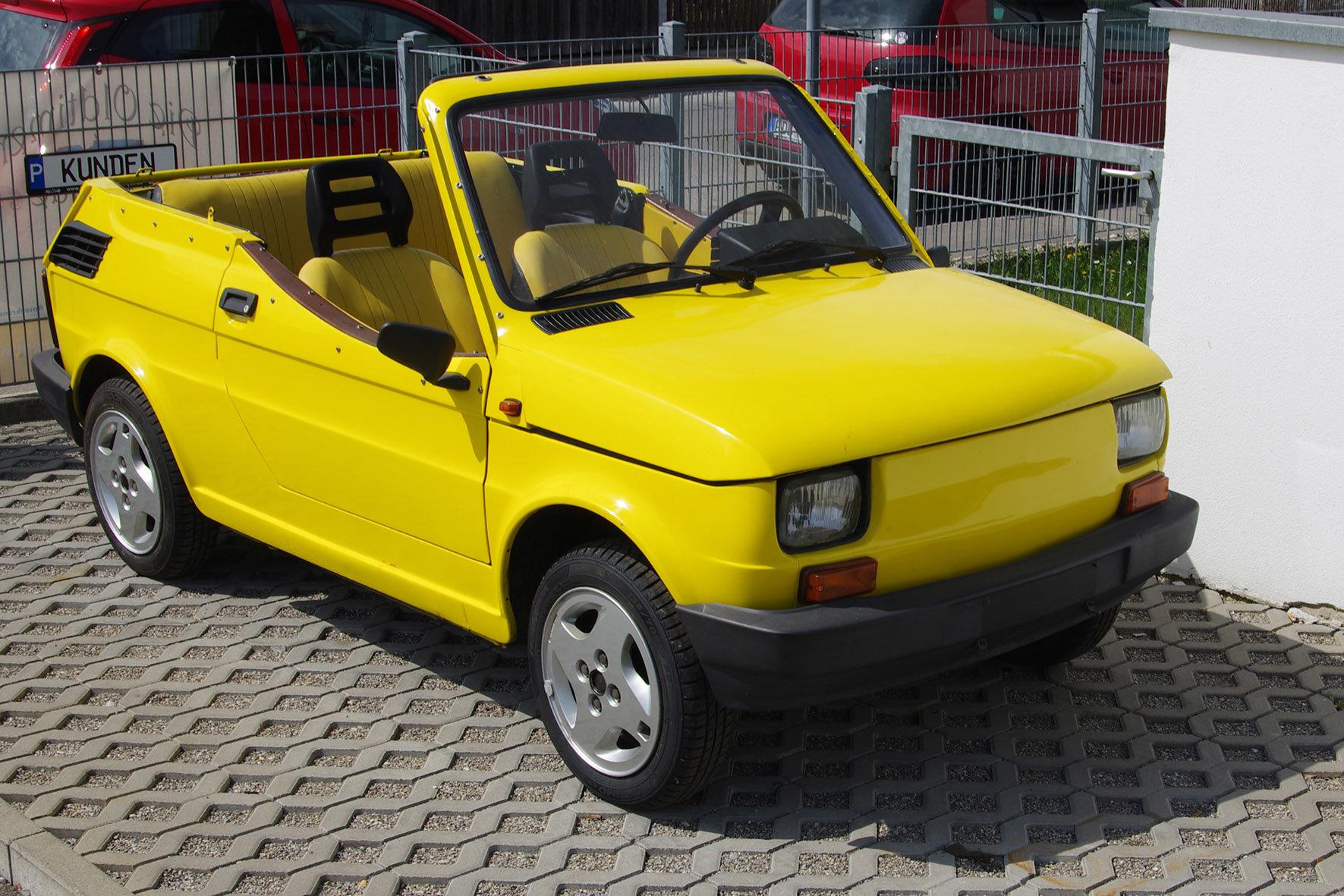 1988 Fiat 126 - Gavello - very rare  SOLD (picture 2 of 6)