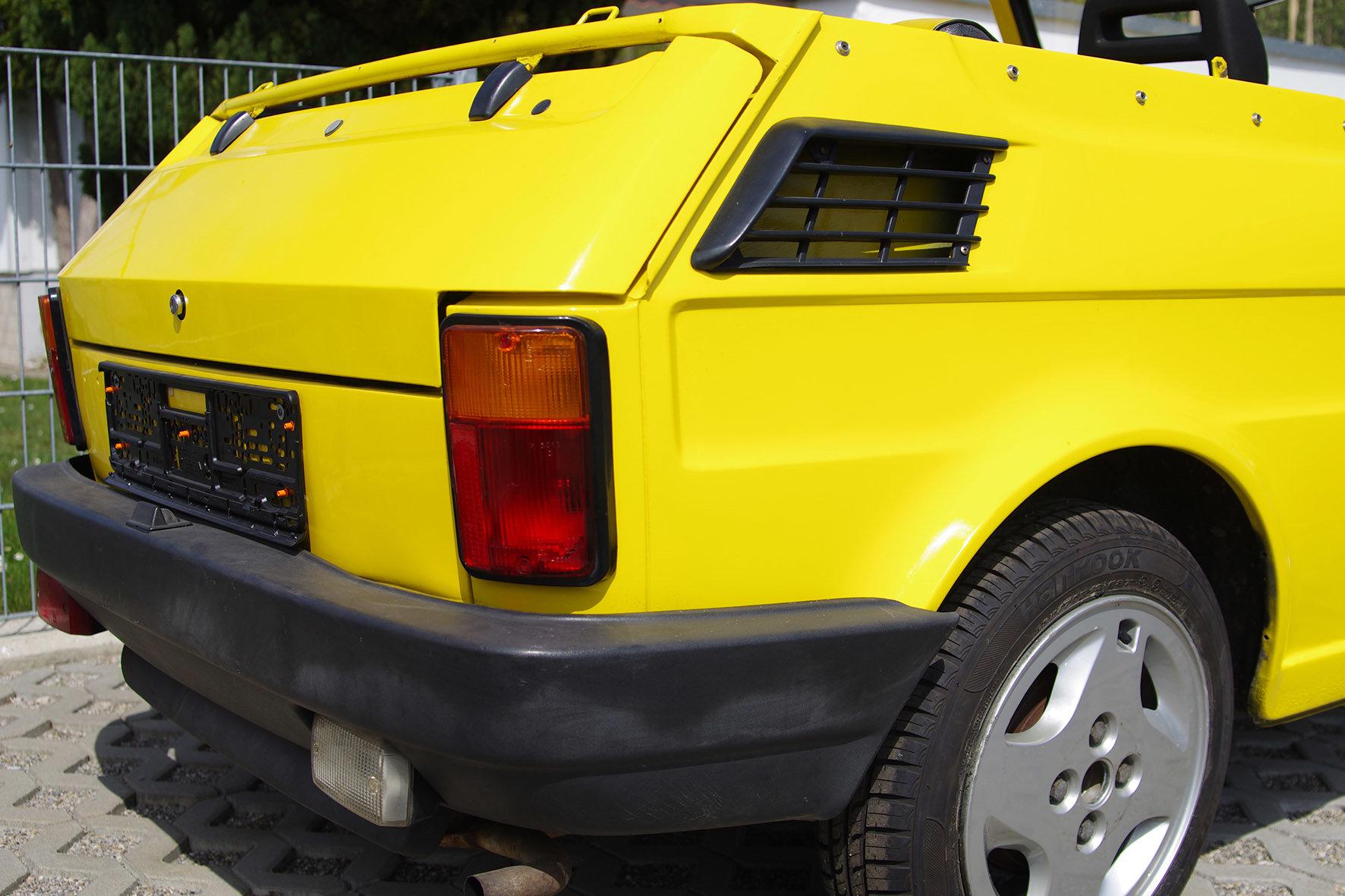 1988 Fiat 126 - Gavello - very rare  SOLD (picture 5 of 6)