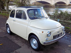 1972 FIAT 500 R SALOON - LHD - RESTORED For Sale