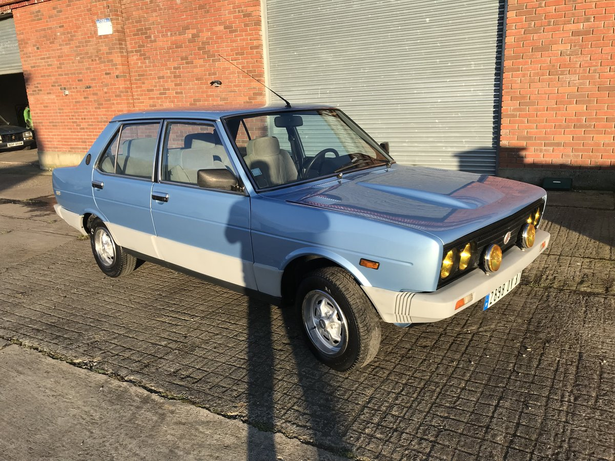 1982 Fiat 131 2500 diesel For Sale (picture 1 of 6)