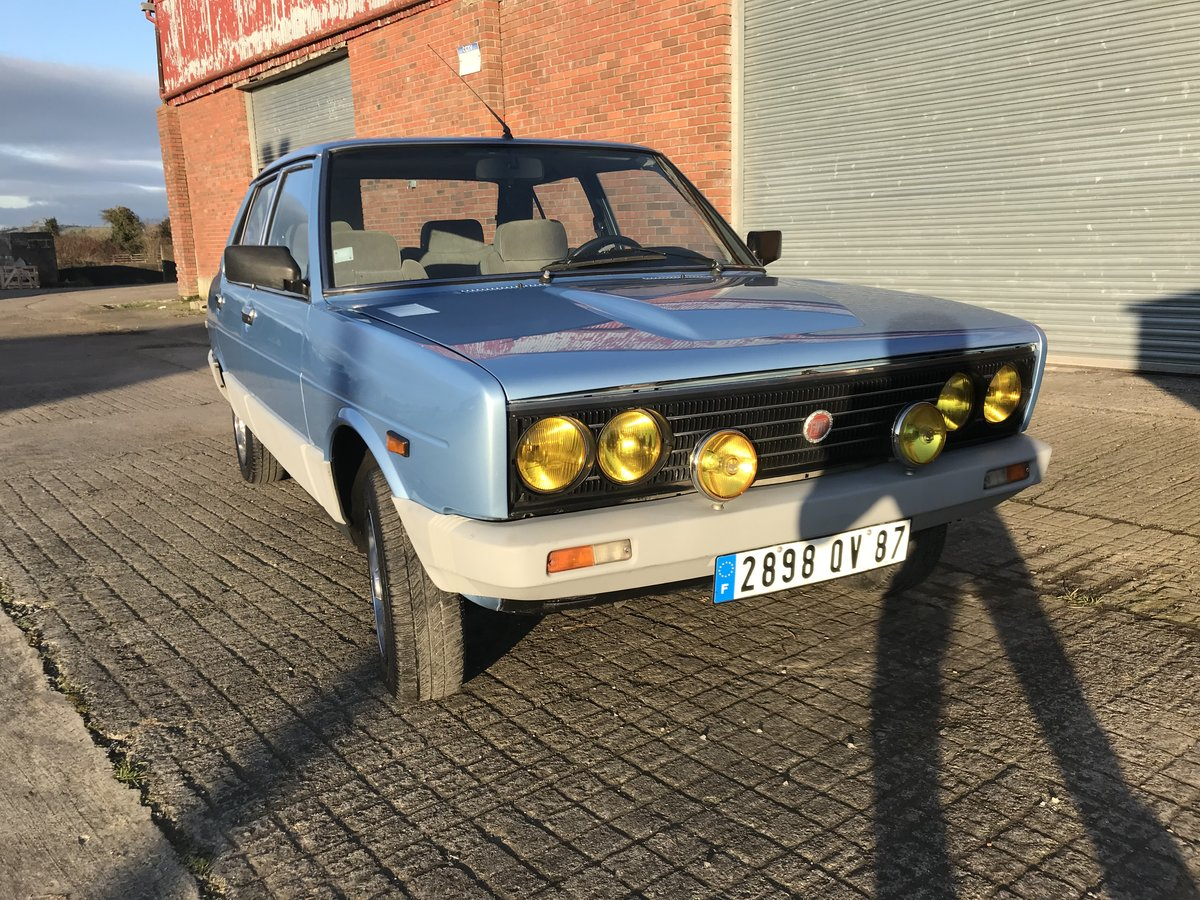 1982 Fiat 131 2500 diesel For Sale (picture 2 of 6)