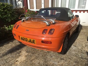 1996 Fiat Barchetta 39k miles rare orange colour