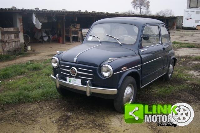 1959 Fiat 600 PRIMA SERIE VETRI DISCENDENTI FRENI A DISCO ANTERI For Sale (picture 1 of 6)