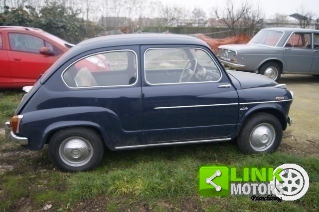 1959 Fiat 600 PRIMA SERIE VETRI DISCENDENTI FRENI A DISCO ANTERI For Sale (picture 4 of 6)