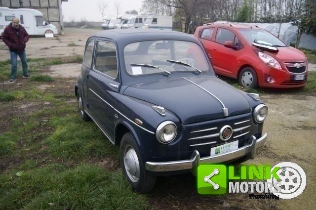 1959 Fiat 600 PRIMA SERIE VETRI DISCENDENTI FRENI A DISCO ANTERI For Sale (picture 5 of 6)