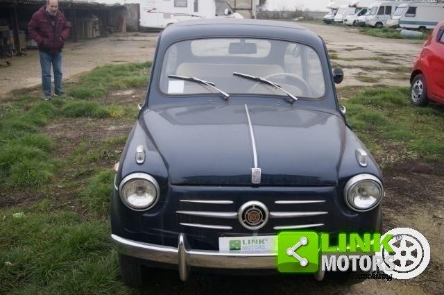 1959 Fiat 600 PRIMA SERIE VETRI DISCENDENTI FRENI A DISCO ANTERI For Sale (picture 6 of 6)