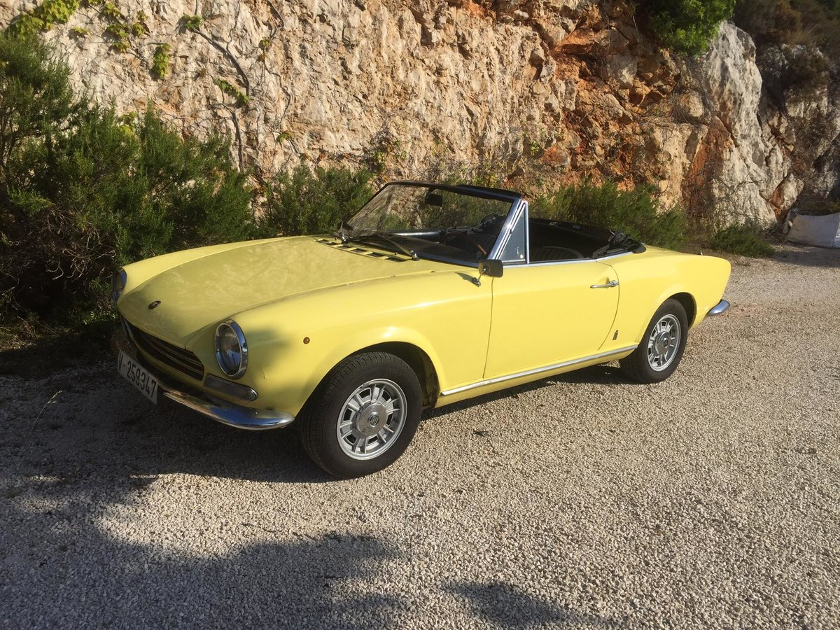 1972 Fiat 124 spider For Sale (picture 1 of 6)