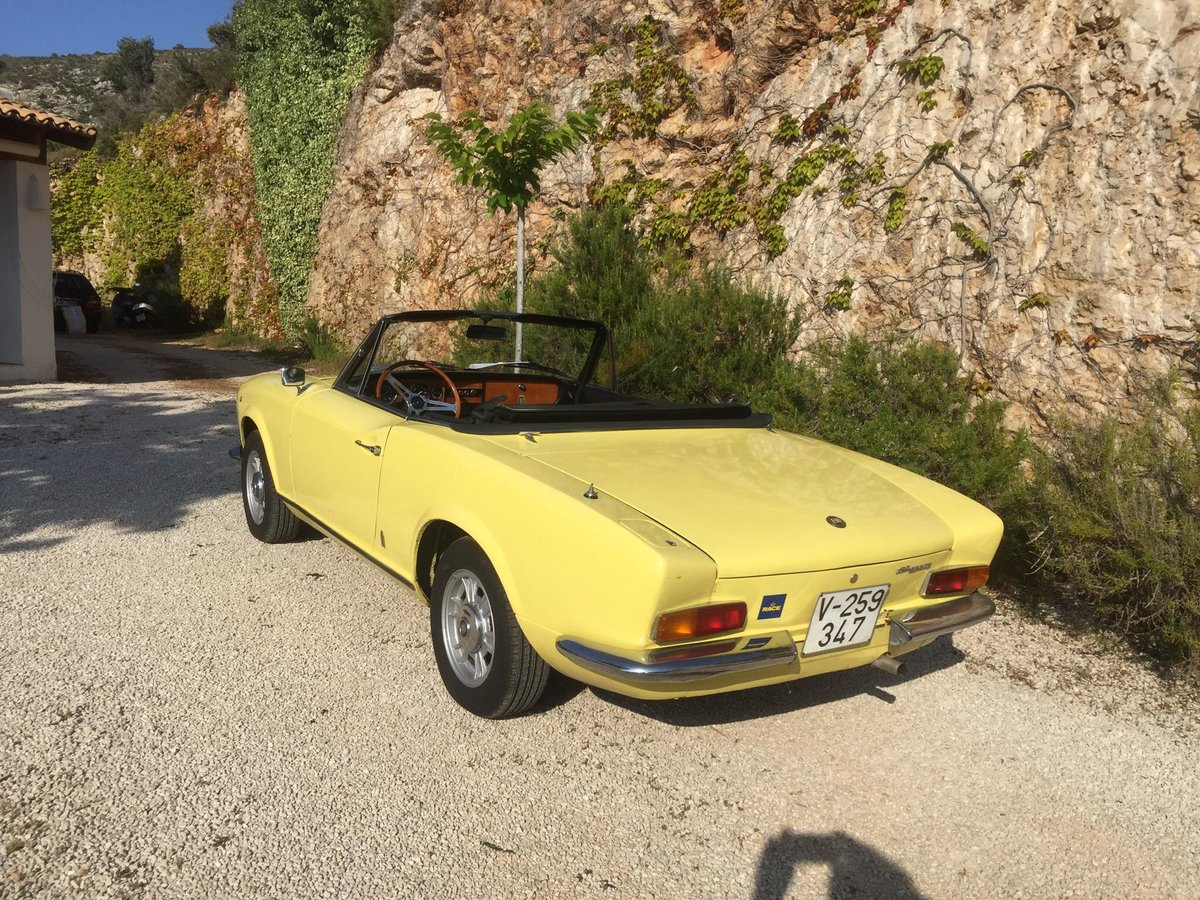 1972 Fiat 124 spider For Sale (picture 2 of 6)