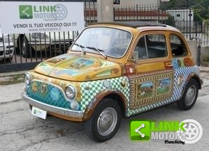 1971 Fiat 500 Decorazione Carretto Siciliano For Sale