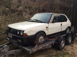 1987 Fiat Ritmo/Strada 130TC Abarth Left Hand drive