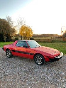 1988 Fiat X19 Bertone 1500 Targa, 25,770 £££ spent