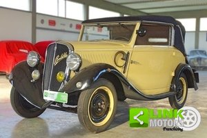 1934 Fiat Balilla 508 Spider Garavini For Sale