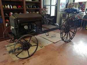 1929 Fiat Carioca tractor special more small than Lanz Bulldog