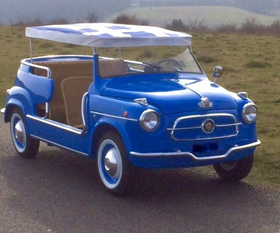 1958 Fiat Jolly Concours Rebuild  For Sale (picture 1 of 6)