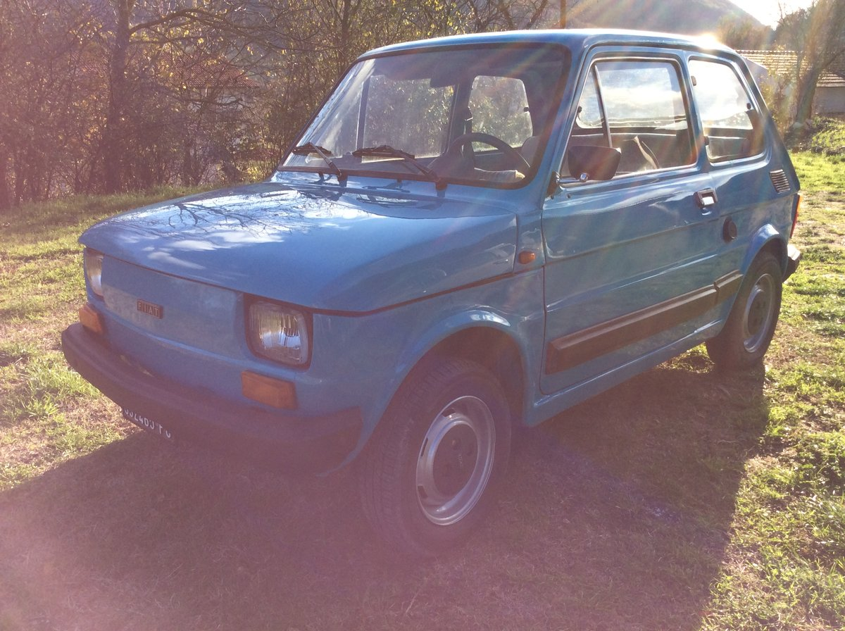 1979 Fiat 126 personal 4 650 left hand drive very solid For Sale (picture 1 of 6)