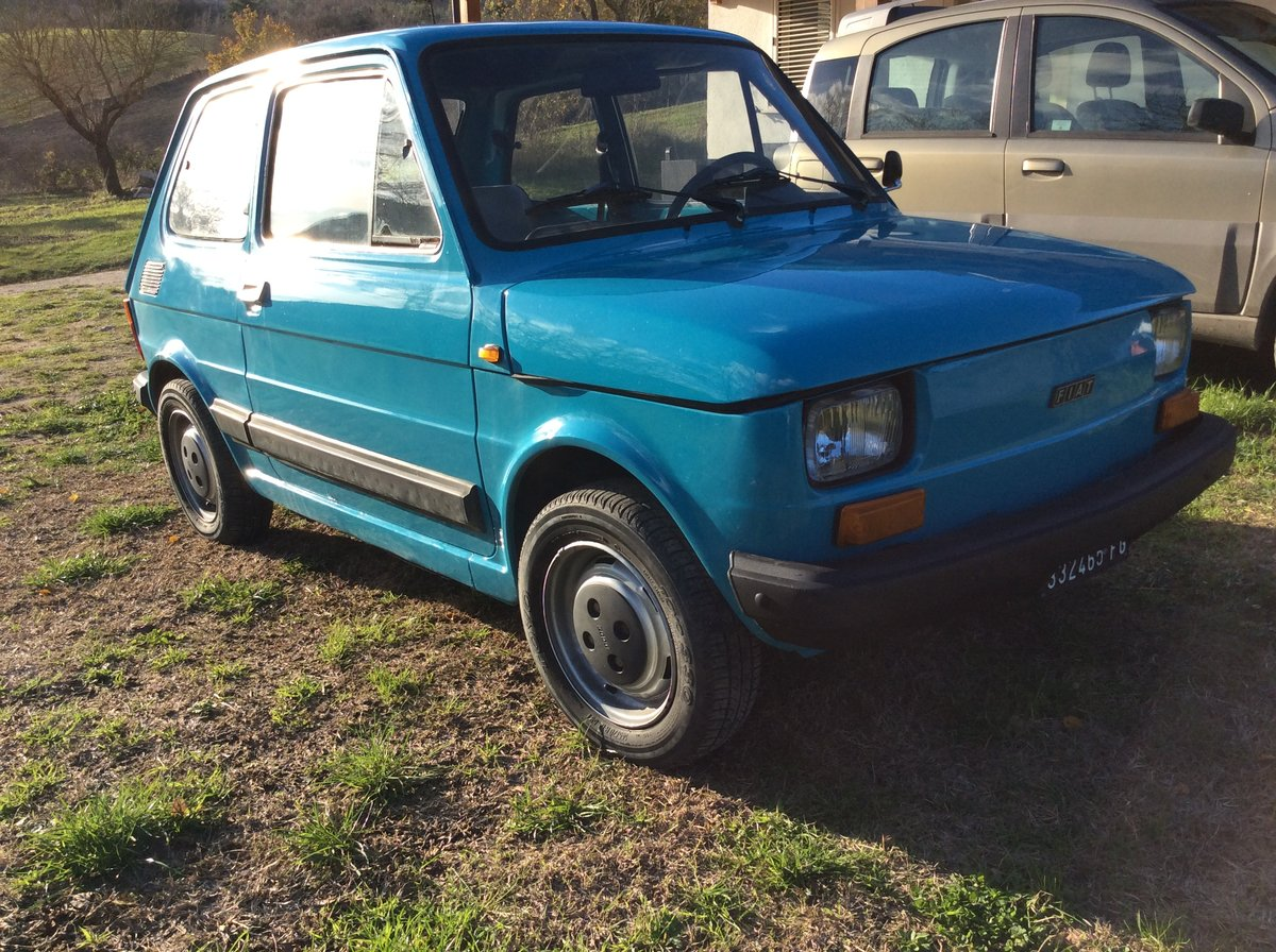 1979 Fiat 126 personal 4 650 left hand drive very solid For Sale (picture 2 of 6)