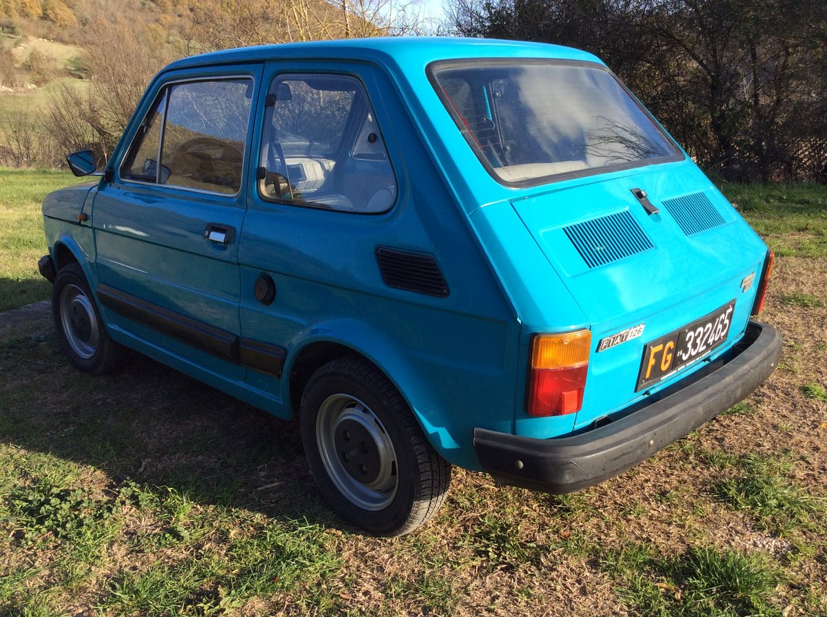 1979 Fiat 126 personal 4 650 left hand drive very solid For Sale (picture 4 of 6)