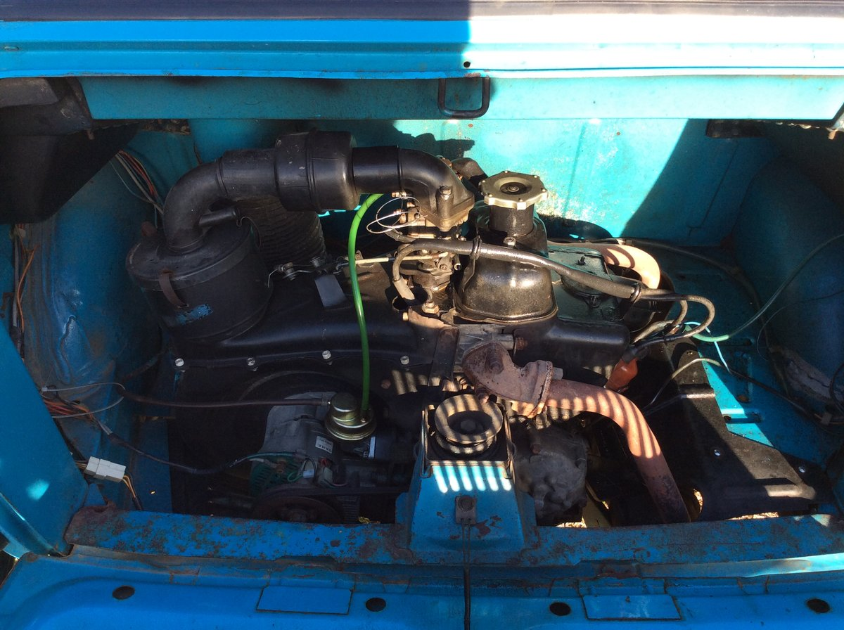 1979 Fiat 126 personal 4 650 left hand drive very solid For Sale (picture 6 of 6)