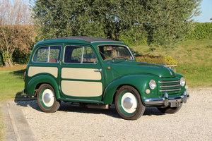 1954 Fiat 500 C Topolino Giardinetta Belvedere For Sale