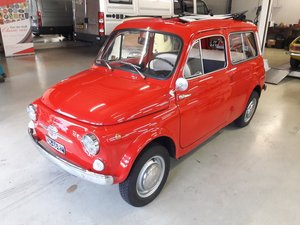 FIAT 500 GIARDINIERA 1968  10000 EURO PERFECT RESTAURATION