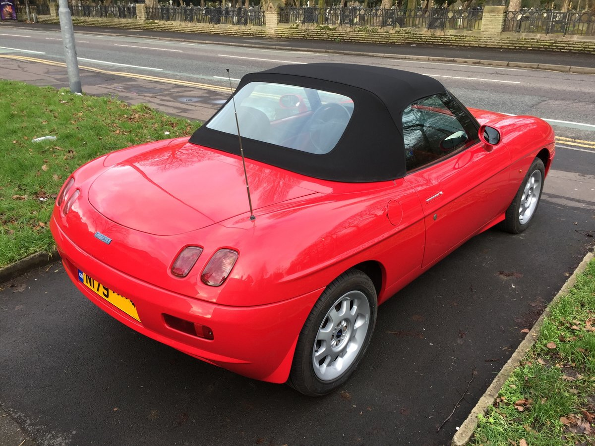 1996 Original Fiat Barchetta 1.8 Roadster New Roof For Sale (picture 3 of 6)