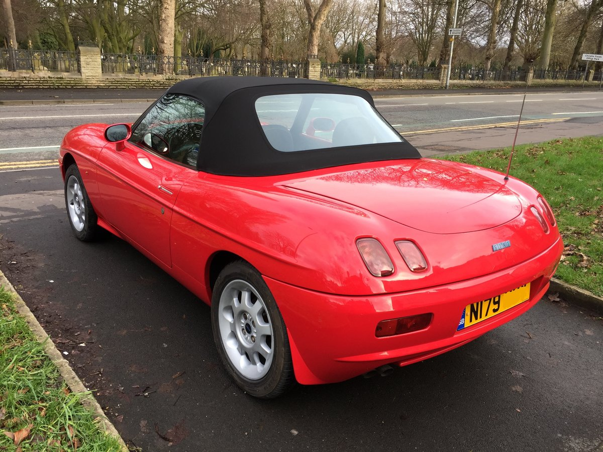 1996 Original Fiat Barchetta 1.8 Roadster New Roof For Sale (picture 4 of 6)