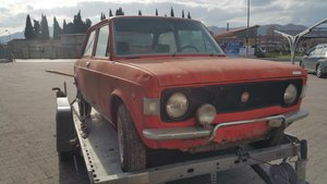 1970 Fiat 128 Rally 1st series left hand drive orange