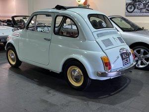 FIAT 500F-1967-ROUND SPEEDO- NICE EXAMPLE- SOLD