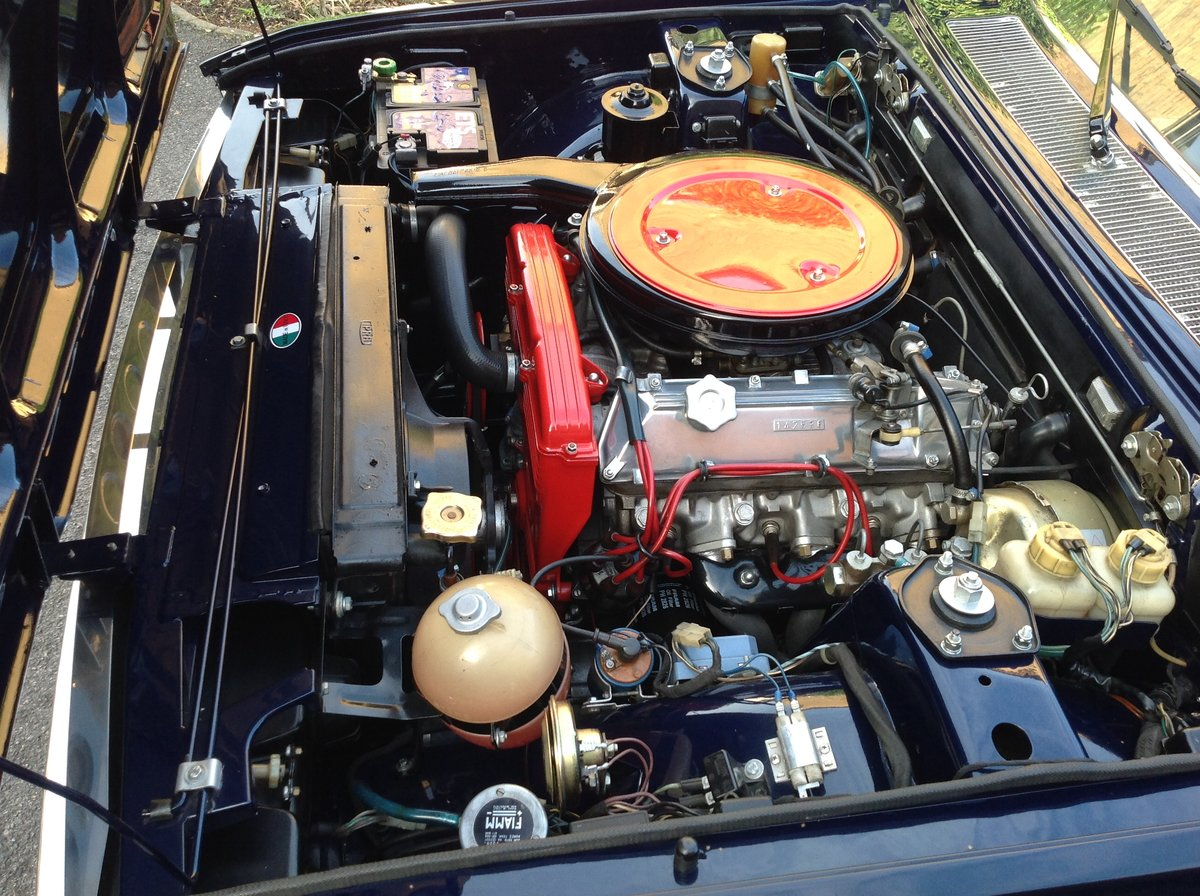 1972 Fiat 130 coupe, multiple show winning concours vehicle For Sale (picture 4 of 6)