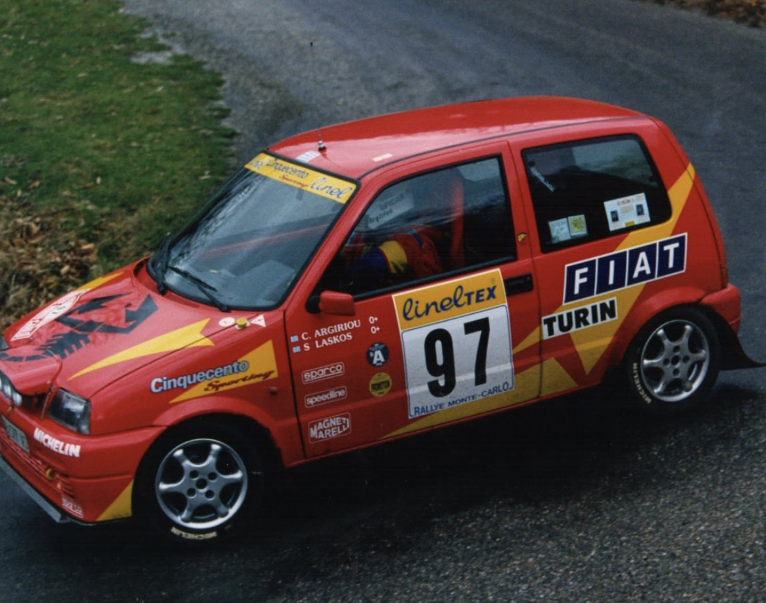 1996 Fiat Cinquecento Abarth Original trofeo rally car For Sale (picture 3 of 5)