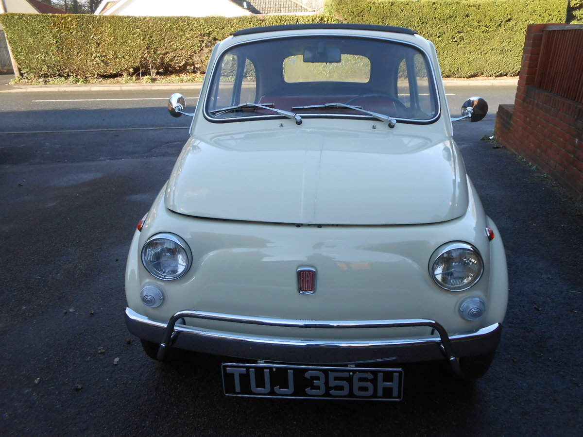 1970 Fiat 500l berlinina For Sale (picture 2 of 6)