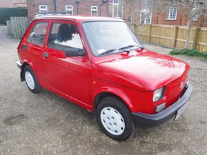 **REMAINS AVAILABLE** 1997 Fiat 126 For Sale by Auction