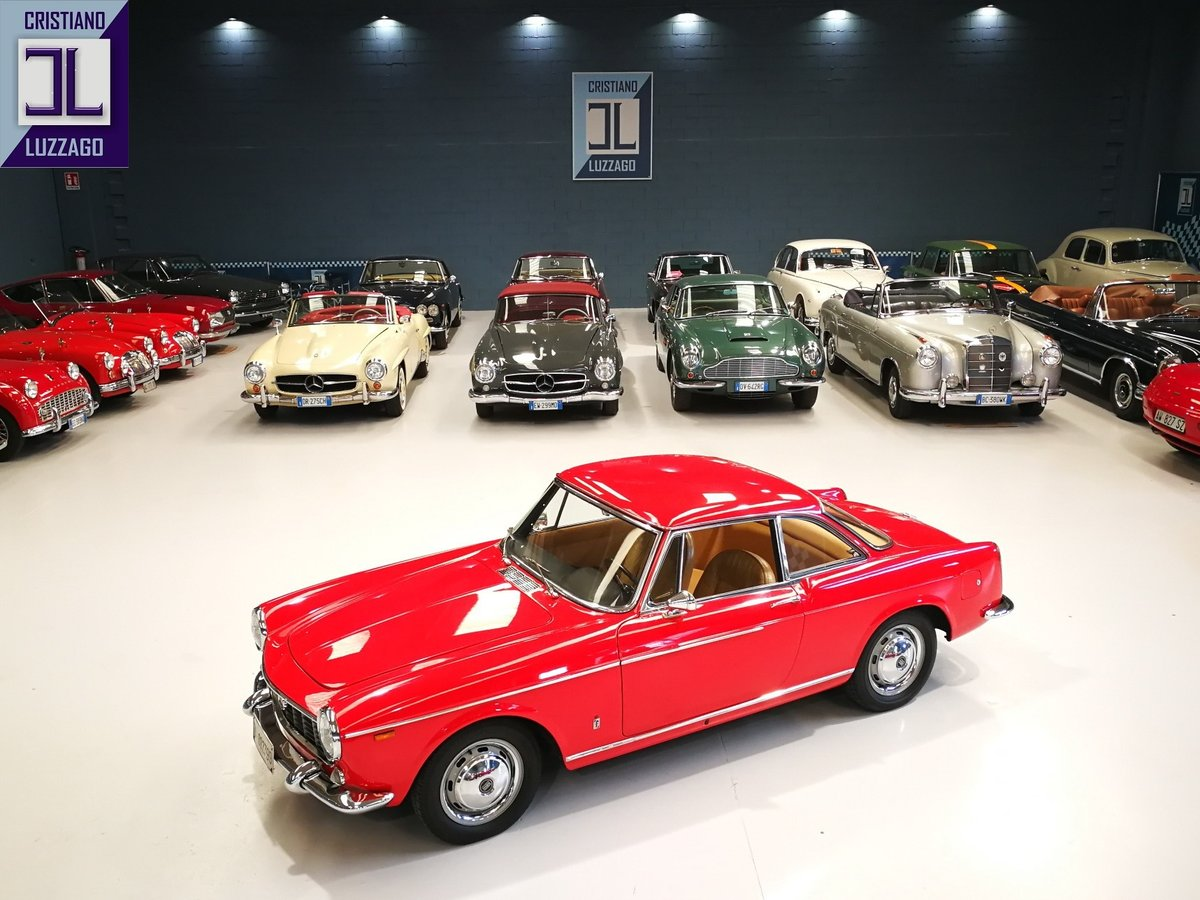 1966 FIAT 1500 COUPE' PININFARINA -3 OWNERS ONLY For Sale (picture 1 of 6)