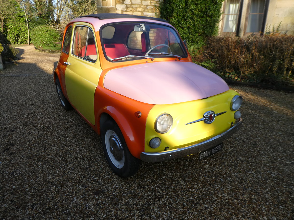 1967 Fiat 500 saloon For Sale (picture 1 of 6)