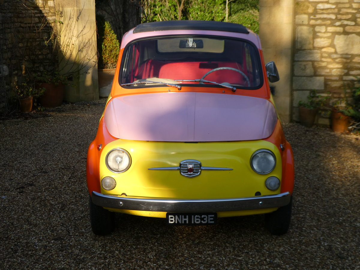1967 Fiat 500 saloon For Sale (picture 2 of 6)