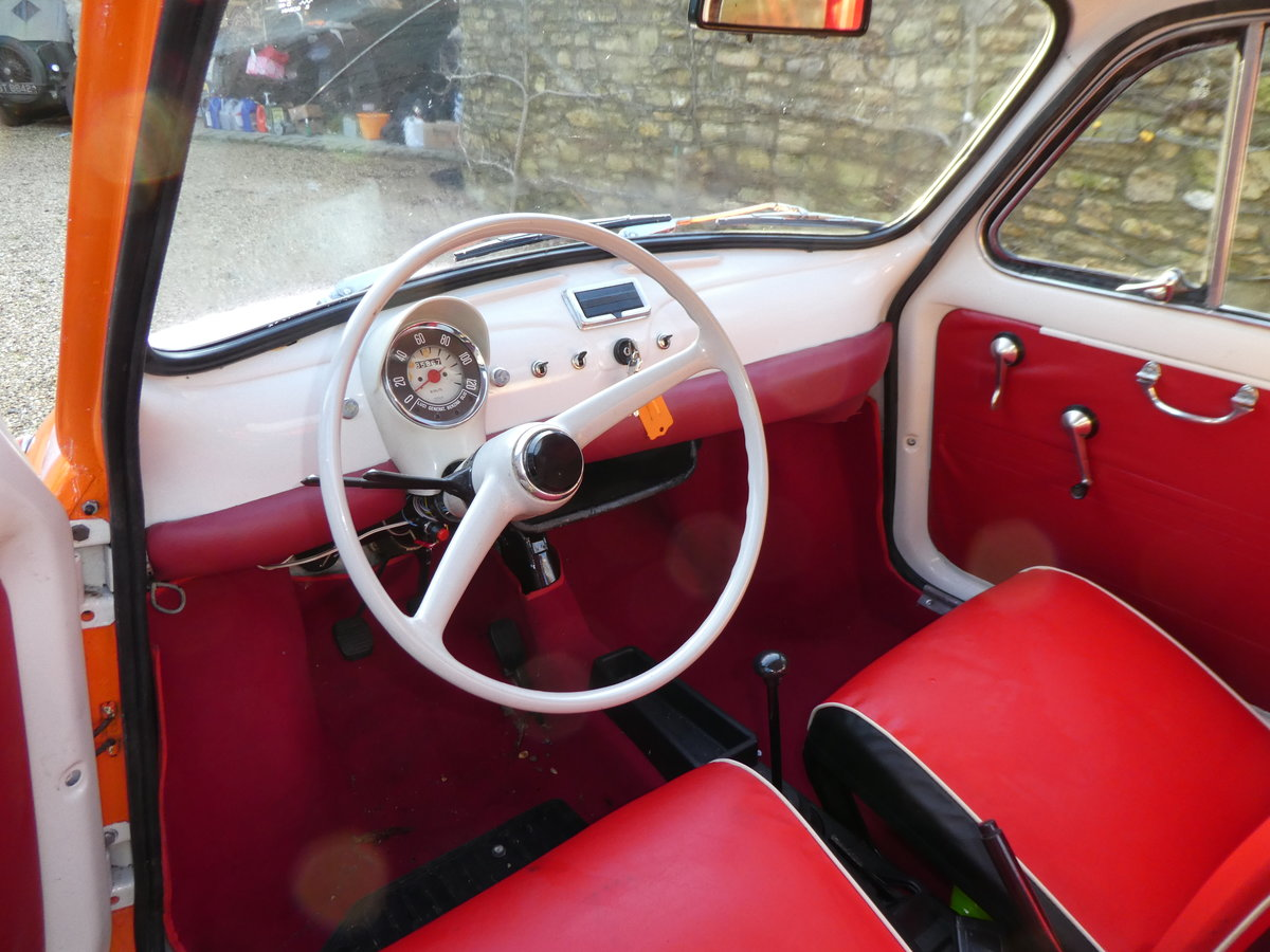 1967 Fiat 500 saloon For Sale (picture 3 of 6)